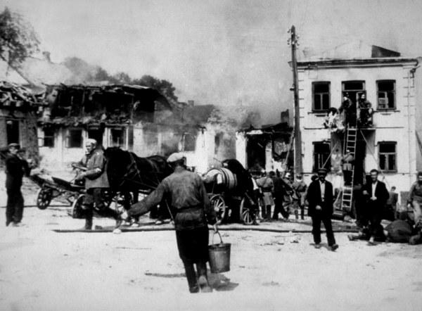 Bombardowanie Warszawy we wrześniu 1939 r.