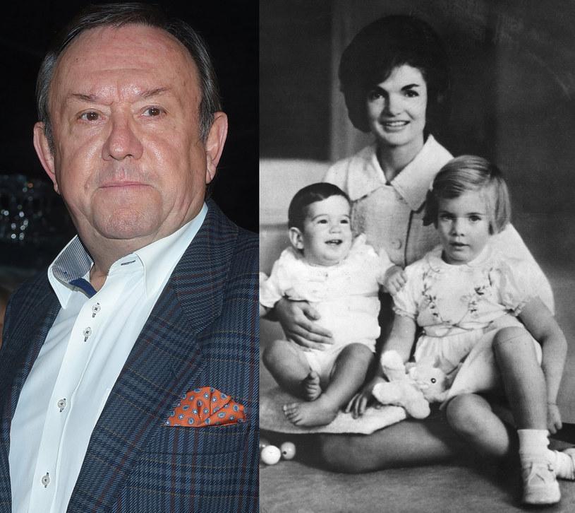 Zbyszek Buczkowski z Jacqueline Kennedy, fot. Andras Szilagyi /East News
