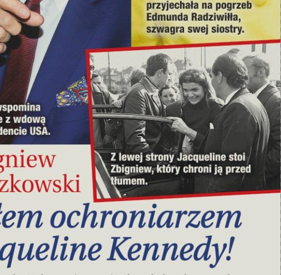 Zbyszek Buczkowski z Jacqueline Kennedy /Dobry Tydzień