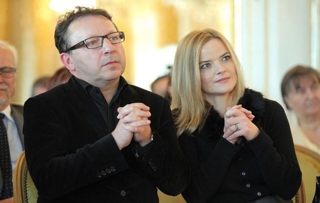Zbyszek Zamachowski i Monika Richardson /- /MWMedia