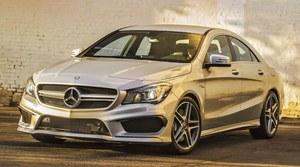 (Zbyt) popularny Mercedes CLA