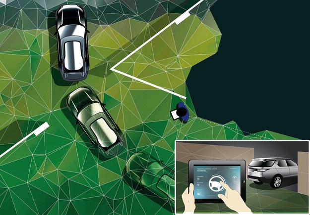 Zdalne sterowanie /Land Rover
