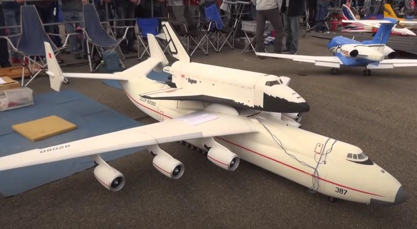 Zdalnie sterowany AN-225 /YouTube