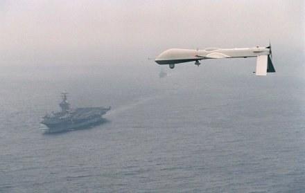 Zdalnie sterowany Predator /AFP