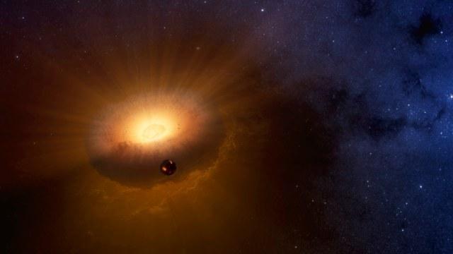 Zdaniem astronomów, obiekt synestialny mógł zapoczątkować narodziny Księżyca oraz Ziemi /materiały prasowe
