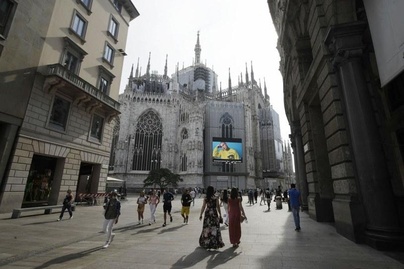 """Zdaniem immunologa, Włochy są """"w fazie preludium do normalności"""" /AP/Associated Press/ /East News"""