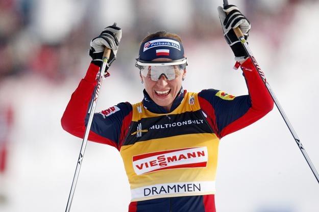 Zdaniem Józefa Łuszczka Justyna Kowalczyk ma w Oslo szansę na co najmniej trzy medale /AFP