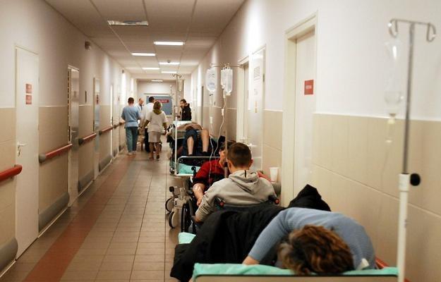 Zdaniem lekarzy szykuje się totalny chaos, fot. M. Kosc /Reporter