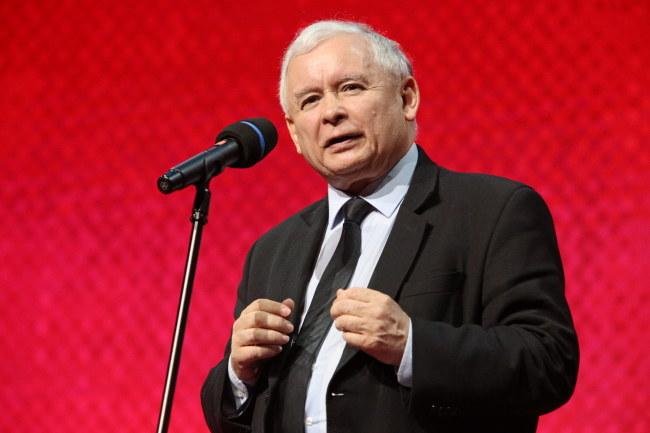 """Zdaniem niemieckich mediów Jarosław Kaczyński """"ożywia antyniemieckie resentymenty"""" /Stanisław Rozpędzik /PAP"""