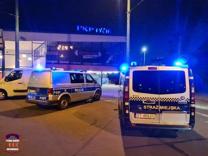 Zdarzenie miało miejsce na dworcu PKP w Tychach /Policja Śląska /materiały prasowe
