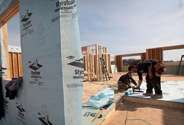 Zdążyć przed zimą, czyli budowa domu w kilka miesięcy. Fot. Scott Olson /Getty Images/Flash Press Media