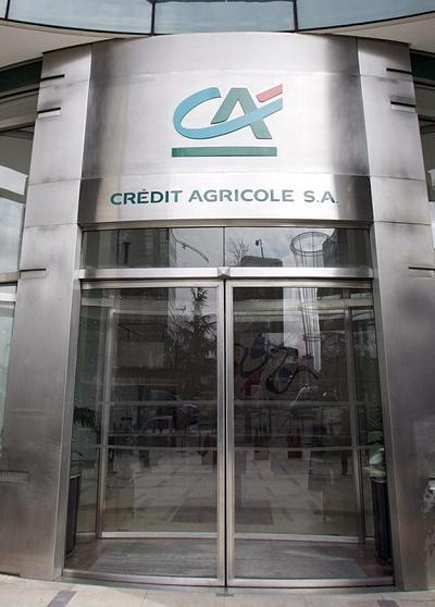 Zdecydowana większość banków stosuje 3-miesięczne notowania WIBOR - tak jest m.in. w Credit Agricole /AFP
