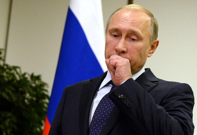 Zdecydowana większość Ukraińców źle ocenia Putina /AFP