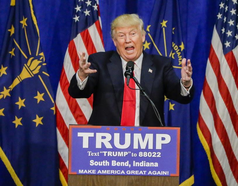 Zdecydowane zwycięstwo Trumpa w Indianie, Cruz rezygnuje /AFP