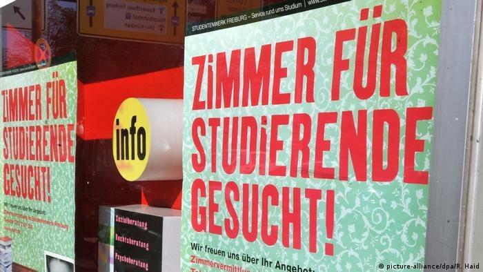 Zdecydowanie taniej płaci się w znanych ośrodkach akademickich na wschodzie Niemiec /Deutsche Welle