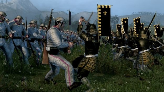 Zdecyduj, kto wygra? Tradycyjna kultura shogunów czy nowoczesna armia wykorzystująca broń palną? /Informacja prasowa