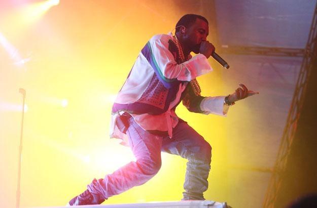Zdenerwowany Kanye West przerwał koncert - fot. Chris Hyde /Getty Images/Flash Press Media