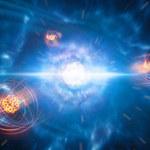 Zderzenia gwiazd neutronowych produkują stront