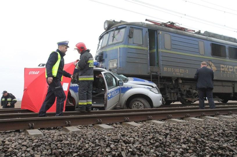 Zderzenia z pociągiem zwykle kończą się tragicznie /Jarosław Jakubczak / Polska Press /East News