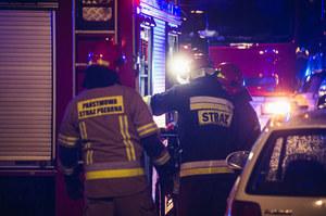 Zderzenie busa z ciężarówką pod Lublinem. Siedem osób poszkodowanych