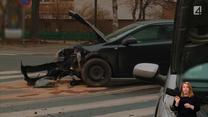 Zderzenie dwóch aut – nikt się nie przyznaje, a świadków brak