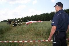 Zderzenie dwóch samolotów. Dwie osoby nie żyją