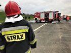 Zderzenie dwóch szkolnych autobusów w Śląskiem. Wśród rannych dzieci