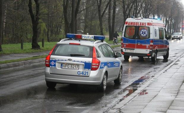 Zderzenie kilku aut w Podlaskiem. Nie żyje jedna osoba
