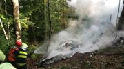 Zderzenie samolotów na Słowacji. 7 osób nie żyje