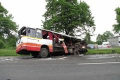 Zderzenie tira, autobusu i osobówki. Jeden z kierowców był pijany