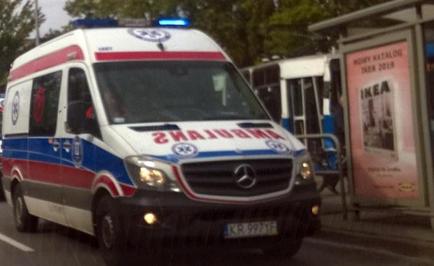 Zderzenie tramwajów w Krakowie. Są ranni