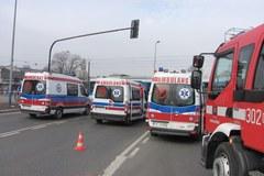 Zderzenie tramwaju z ciężarówką w Krakowie. 12 osób rannych