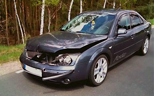ZDERZENIE Z SARNĄ - mimo że to niezbyt wielkie zwierzę, doprowadza do licznych uszkodzeń pojazdu. Na szczęście takie wypadki zwykle nie kończą się tragicznie. /Motor