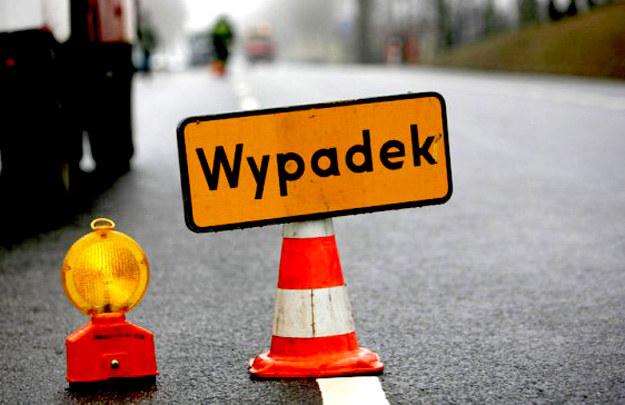 Zderzył się samochód dostawczy z ciężarówką przewożącą węgiel /T. Radzik /Agencja SE/East News