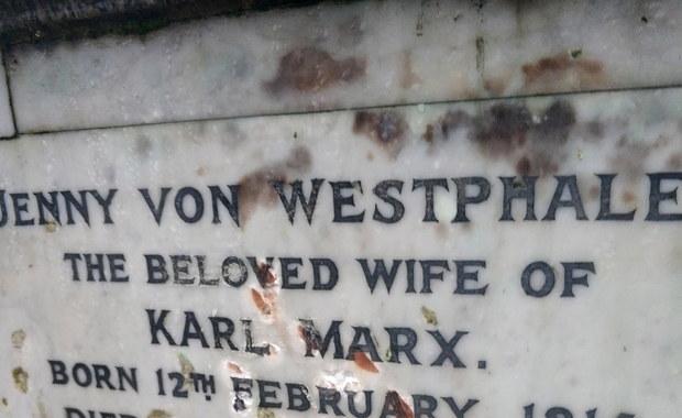 Zdewastowano grób Karola Marksa w Londynie