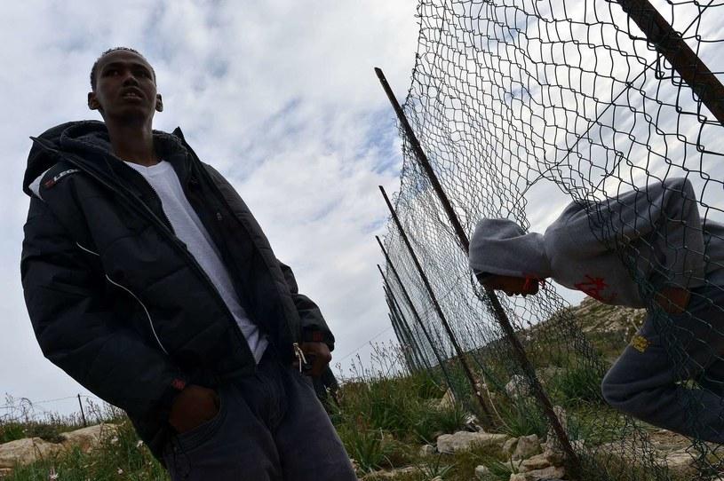 Zdj. ilustracyjne (obóz dla imigrantów na Lampedusie) /AFP