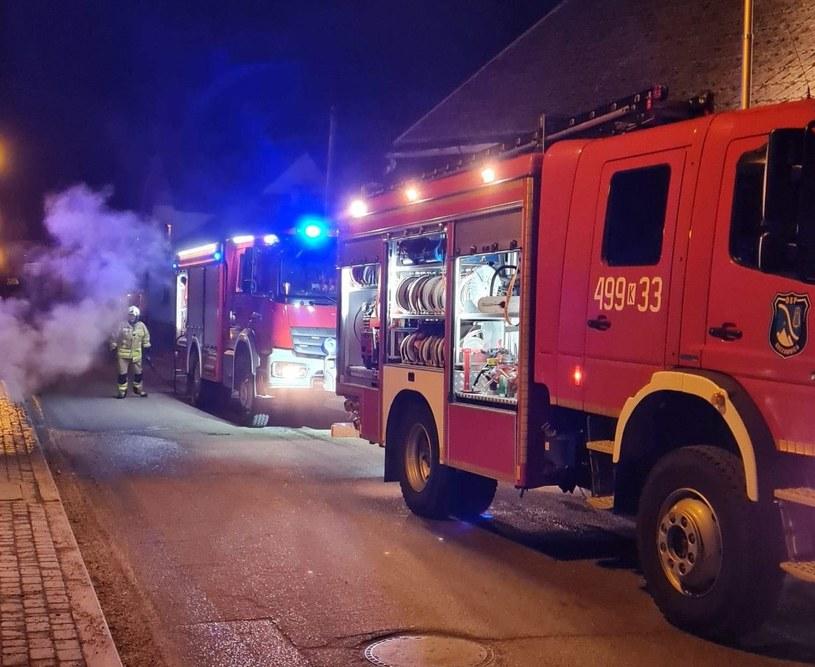 Zdj. ilustracyjne. Straż pożarna otrzymała informacje o pożarze w Szczawnicy w sobotę ok. 9:00 /Facebook.com/OSP Szczawnica /