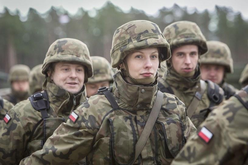 Zdj. ilustracyjne z poligonu w Orzyszu / Orzysz poligon czolgowy, Powitanie Wielonarodowej Batalionowej Grupy Bojowej NATO fot Marek Maliszewski/REPORTER /Reporter