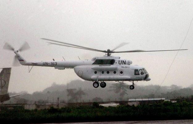 Rozbił się śmigłowiec ONZ, zginęło trzech Rosjan