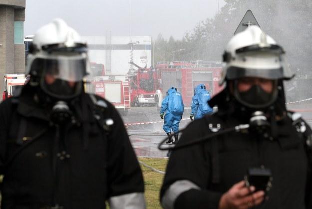 Śląsk: Rozszczelniła się cysterna kolejowa z amoniakiem