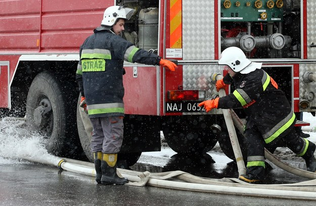 Warszawa: Pożar w centrum handlowym