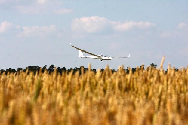 Mazowsze: Awaryjne lądowanie szybowca