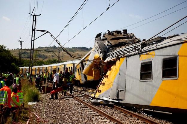 Katastrofa kolejowa w RPA. Ponad 200 osób rannych