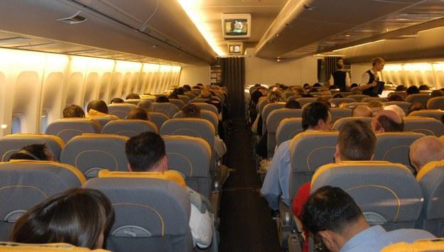 Alert bombowy na pokładzie samolotu Lufthansy