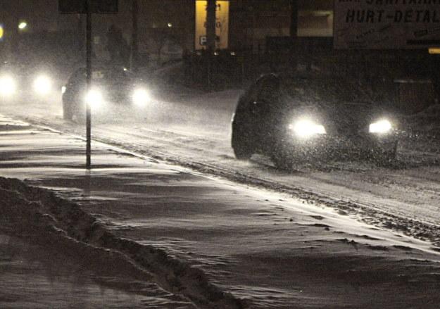 """Listopadowe burze na Dolnym Śląsku. """"Zamieć śnieżna w Chojnowie, Legnicy, Złotoryi"""""""