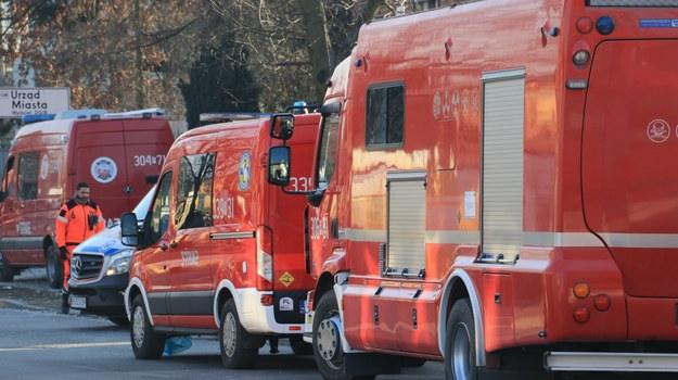 Małopolska: Pożar w elektrowni Siersza w Trzebini