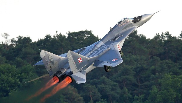Incydent z udziałem MiG-29. Maszyna zgubiła 20-kilogramowy spadochron