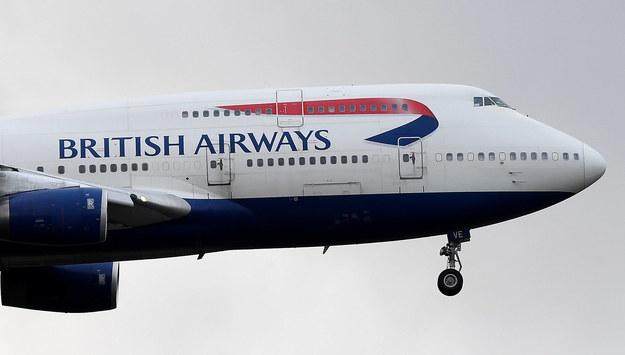 Linie British Airways zawieszają loty do Chin kontynentalnych