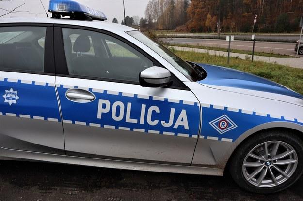 Atak na policjanta w Grudziądzu. Padły strzały