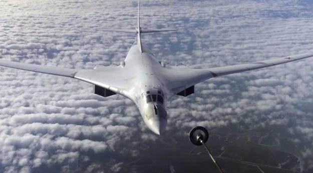 Rosyjskie bombowce nad Bałtykiem. Towarzyszyły im myśliwce Włoch, Danii i Szwecji
